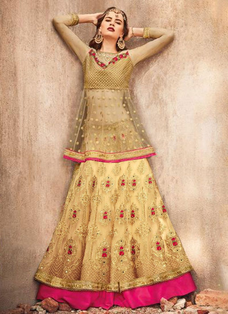 Gold Color Lehenga Choli