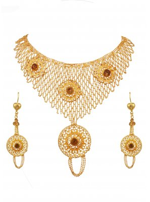Gold Color Necklace Set