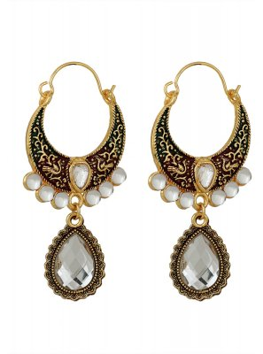 Gold Festival Ear Rings