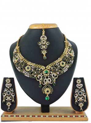 Gold Festival Necklace Set