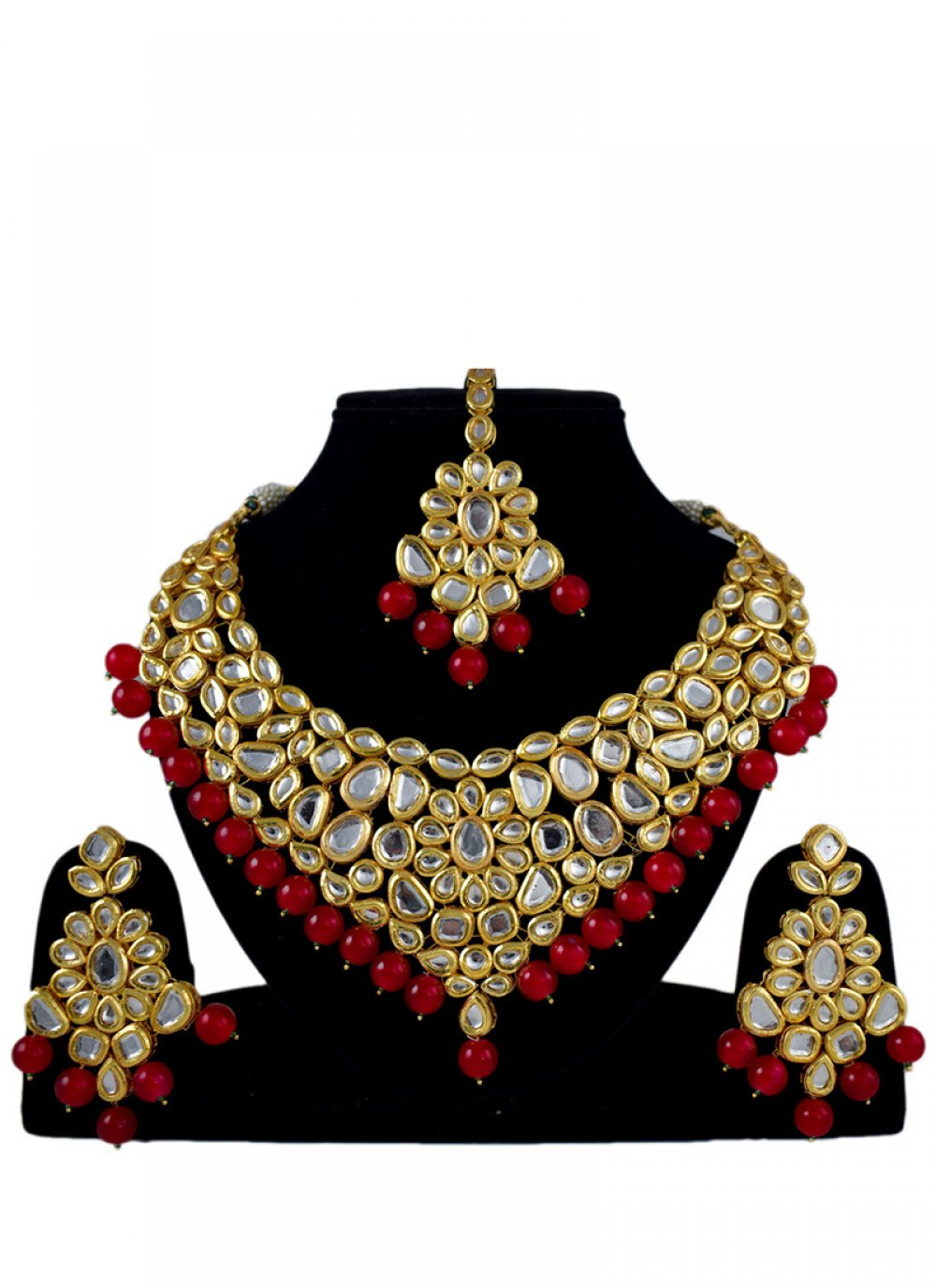 Gold Sangeet Jewellery Set