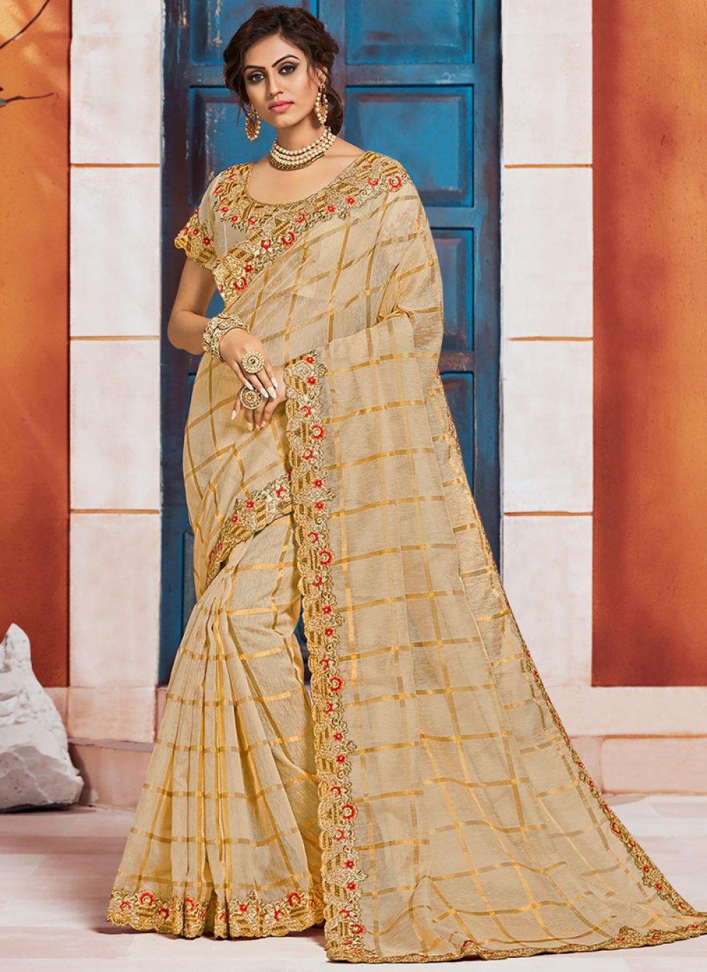 Gold Silk Classic Saree