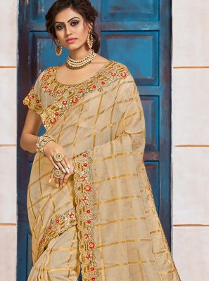 Gold Silk Classic Saree