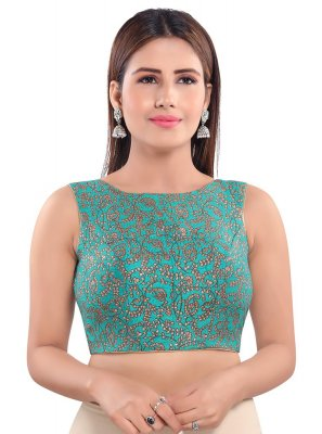 Green Ceremonial Blouse