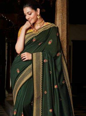 Green Classic Saree