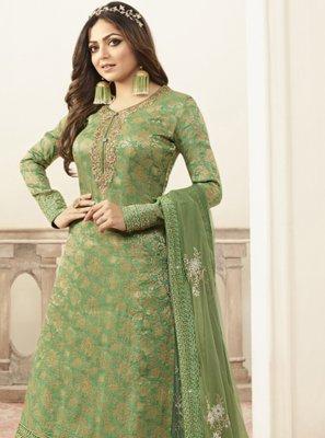 Green Color Designer Salwar Kameez