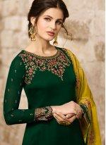 Green Color Designer Salwar Suit