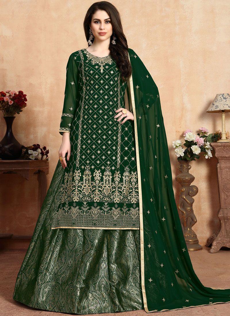 Green Color Lehenga Choli
