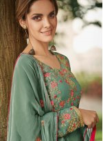 Green Color Salwar Suit