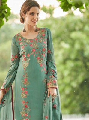 Green Color Salwar Suit