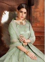 Green Designer Lehenga Choli