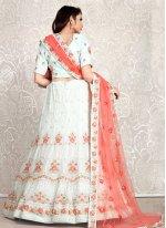 Green Georgette Wedding Trendy Lehenga Choli
