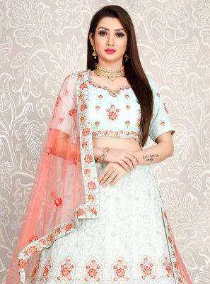 Green Georgette Wedding Trendy Lehenga Choli