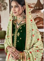 Green Party Salwar Suit