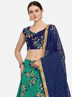 Green Reception Lehenga Choli