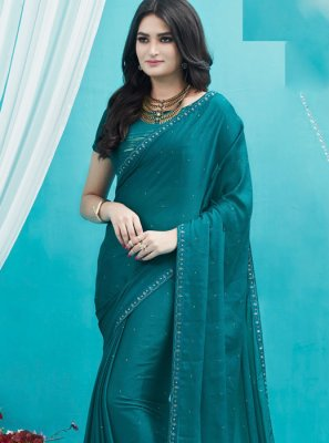Green Silk Designer Saree