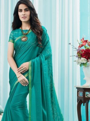 Green Silk Silk Saree