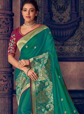 Green Traditional Designer Saree