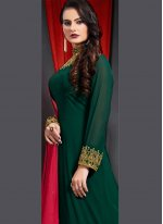 Green Trendy Gown