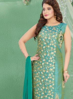 Green Trendy Salwar Kameez