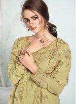 Green Trendy Salwar Suit