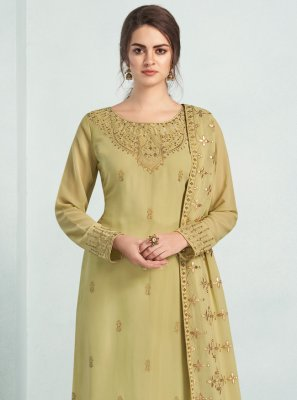 Green Trendy Salwar Suit