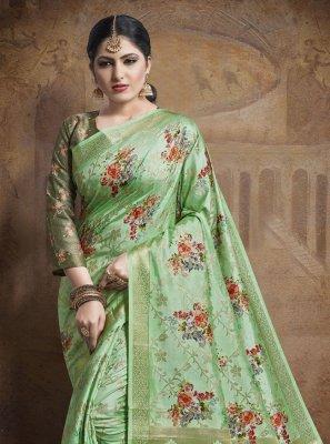 Green Trendy Saree