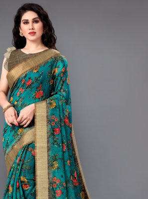 Green Trendy Saree