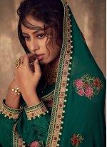 Green Wedding Salwar Suit