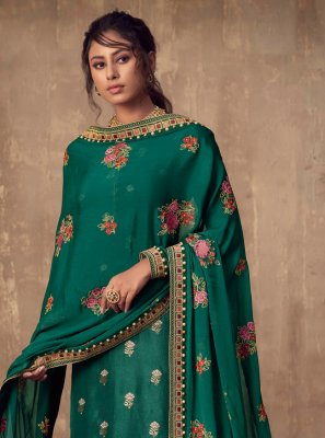 Green Wedding Salwar Suit