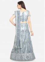 Grey Ceremonial Lehenga Choli