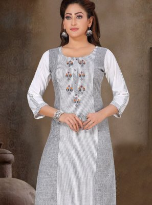 Grey Reception Designer Pakistani Salwar Suit
