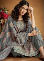 Grey Trendy Salwar Suit