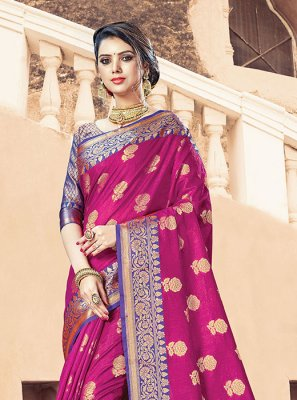 Handloom Cotton Designer Traditional Saree