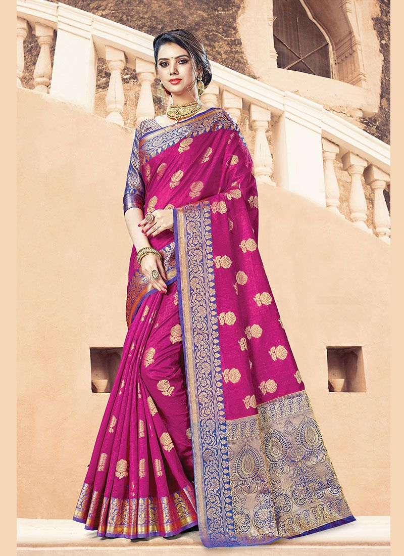 Handloom Cotton Designer Traditional Saree