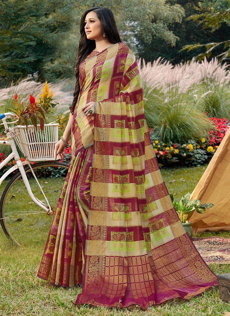 Handloom silk Classic Designer Saree