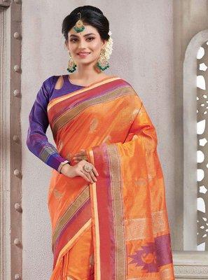 Handloom silk Festival Classic Saree
