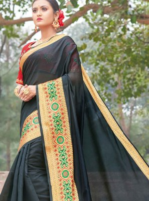 Handloom silk Weaving Classic Designer Saree