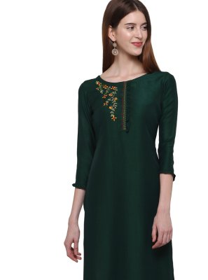 Handwork Cotton Casual Kurti