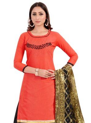 Handwork Cotton Punjabi Suit