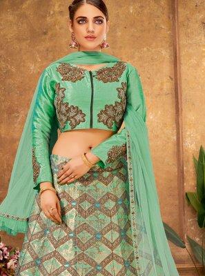 Handwork Silk Designer Lehenga Choli