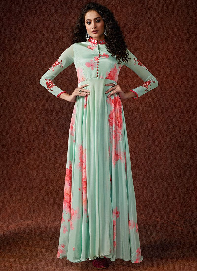 Handwork Trendy Gown
