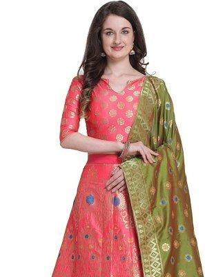 Hot Pink Color Designer Lehenga Choli