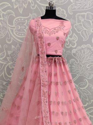 Hot Pink Wedding Lehenga Choli