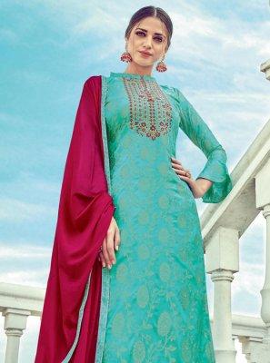 Jacquard Embroidered Designer Suit