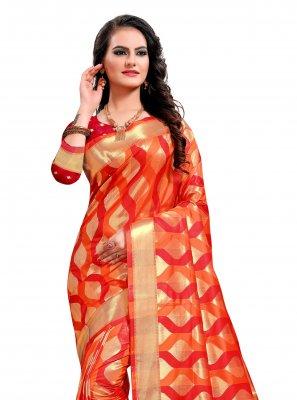 Jacquard Silk Sangeet Classic Saree