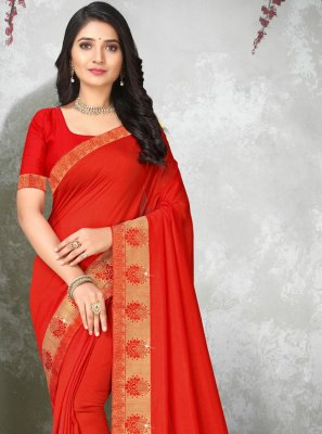 Lace Casual Trendy Saree