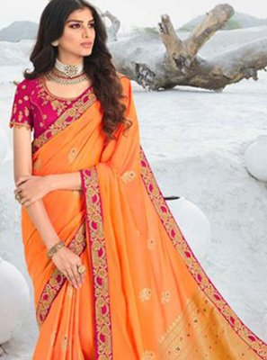 Lace Designer Saree