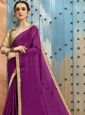 Lace Georgette Classic Designer Saree