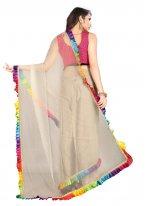 Lace Net Trendy Saree